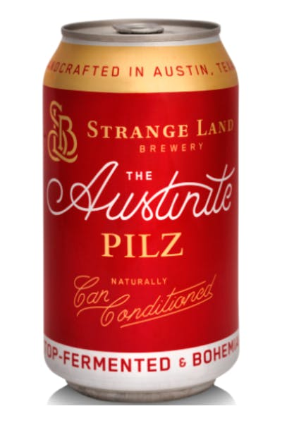 Strange Land Brewing Austinite Pilz