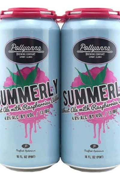 Pollyanna Summerly Raspberry Wheat Ale