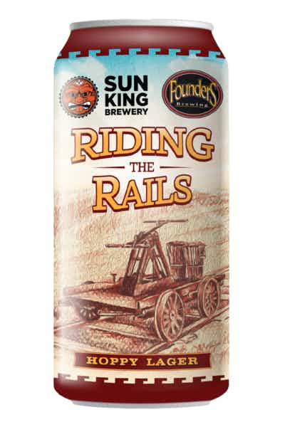 Sun King/Founders Riding the Rails