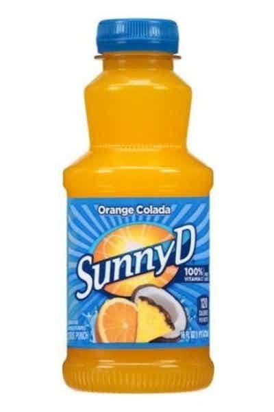 Sunny D Orange Colada