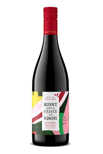 Sunny With A Chance Of Flowers Pinot Noir