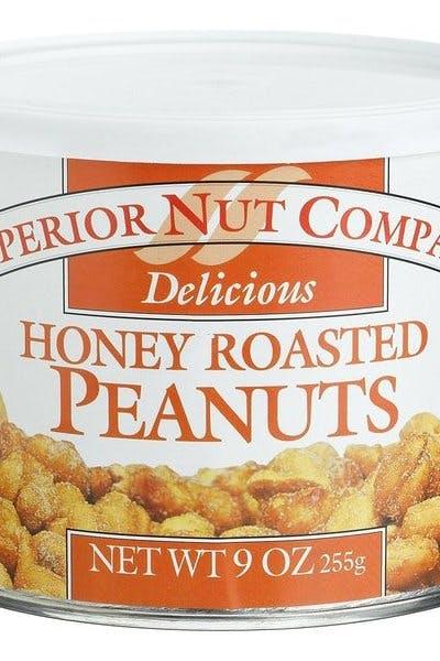 Superior Nut Honey Roasted Peanuts