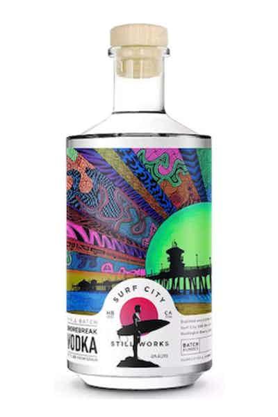Surf City Still Works Shorebreak Vodka