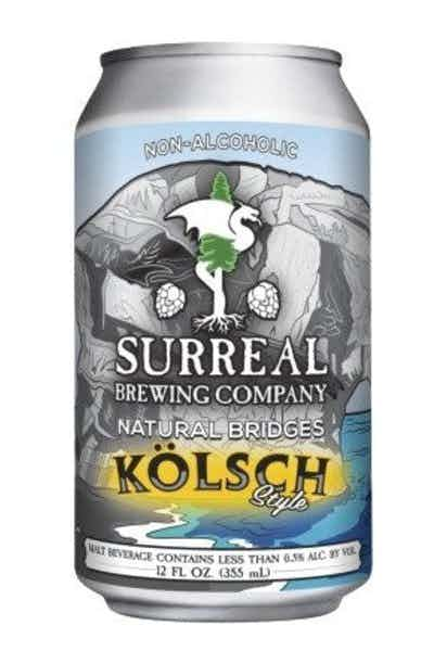 Surreal Brewing Natural Bridges Kolsch Non-Alcoholic