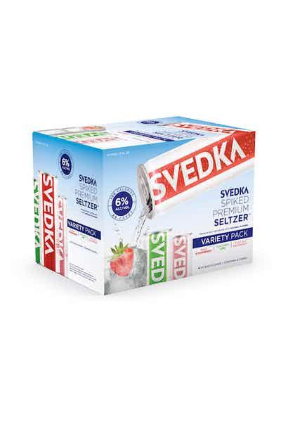 Svedka Spiked Seltzer Variety Pack