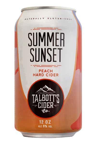 Talbott's Summer Sunset Peach Cider