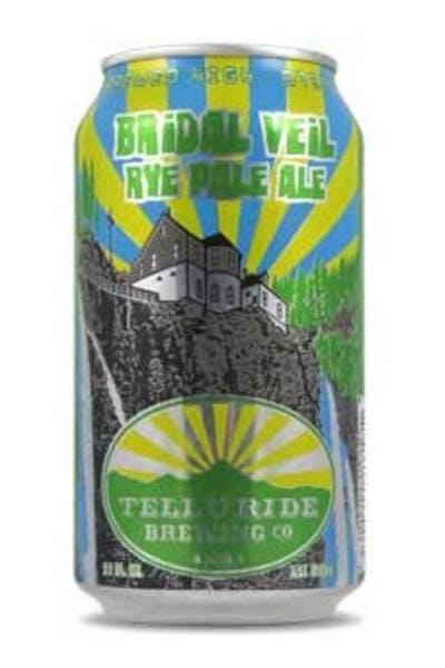 Telluride Brewing Bridal Veil Rye Pale Ale
