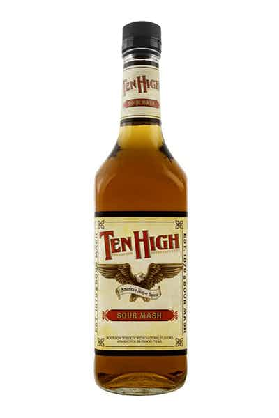 Ten High Sour Mash Whiskey