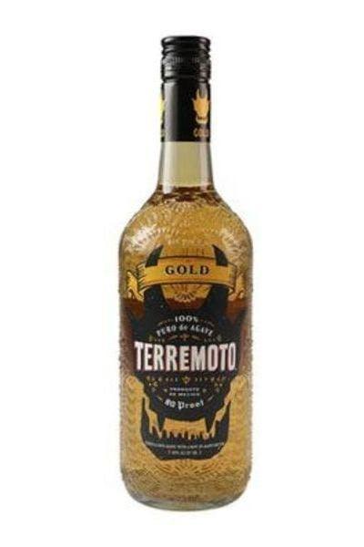 Terremoto Gold Tequila