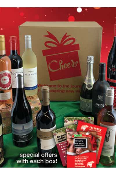 The 12 Bottle Cheers Box Gift Basket