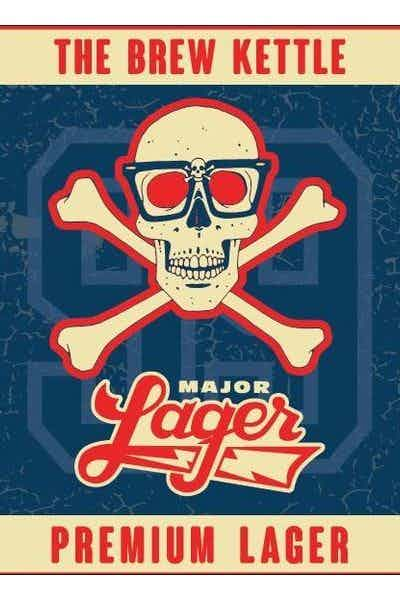 The Brew Kettle Major Lager