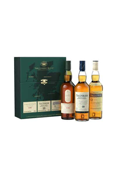 The Classic Malt Strong Collection Gift Set