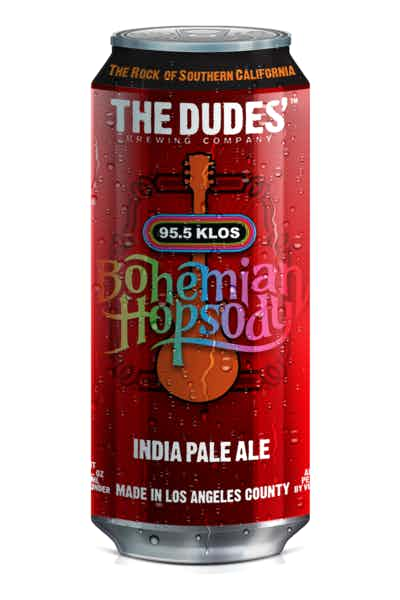 The Dudes' Bohemian Hopsody IPA