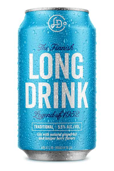 Long Drink Traditional - Citrus Soda. Real Liquor.