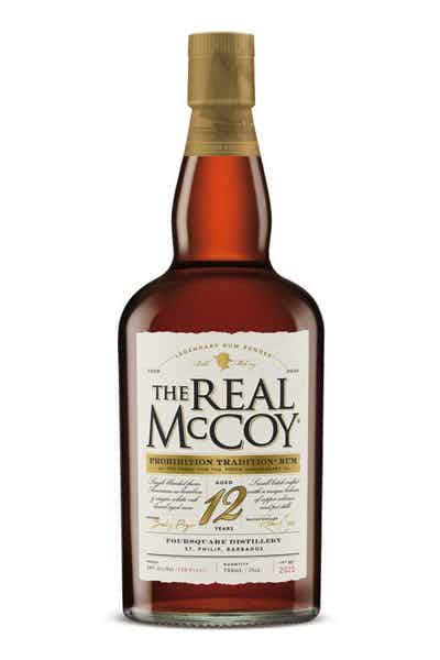 The Real McCoy Limited Edition 12 Year Bourbon Barrel Aged Rum