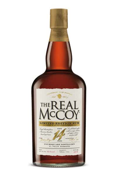 The Real McCoy Limited Edition 14 Year Bourbon Barrel Aged Rum