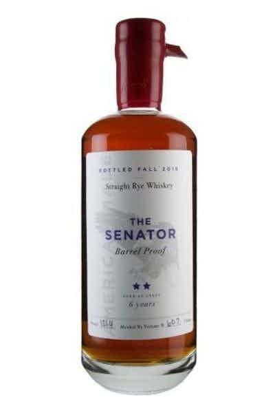 The Senator 6 Year Old Straight Rye