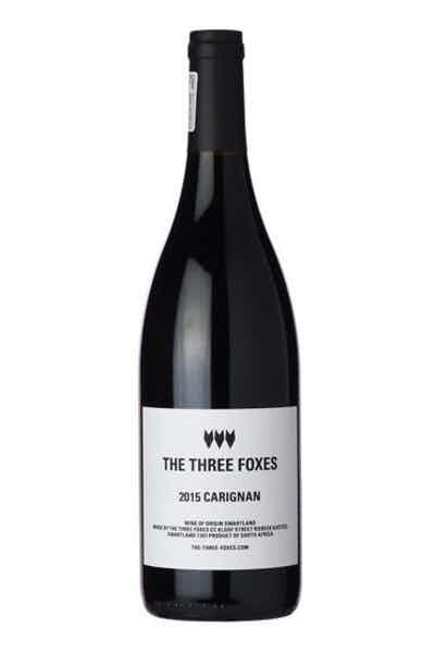 The Three Foxes Carignan 2015