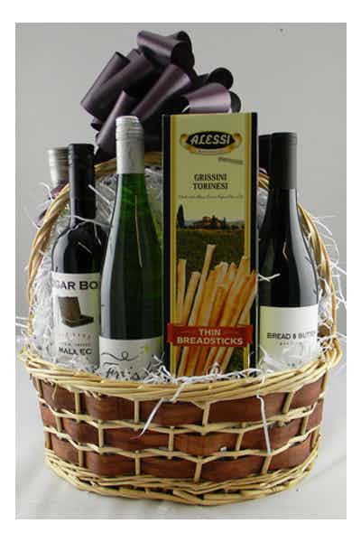 The Wines of the World Basket