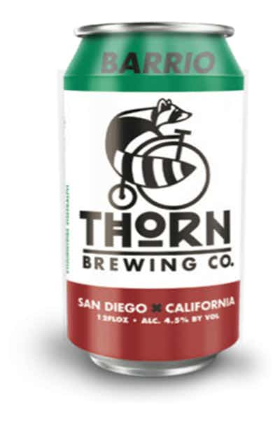 Thorn Brewing Barrio Lager