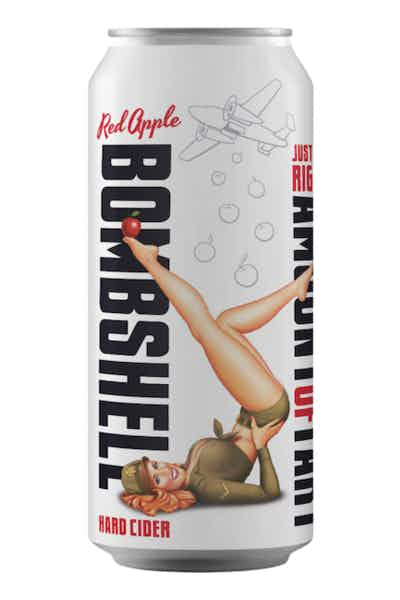 Three Brothers Original Red Apple Bombshell Hard Cider