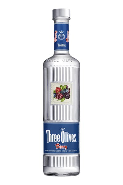 Three Olives Berry Vodka