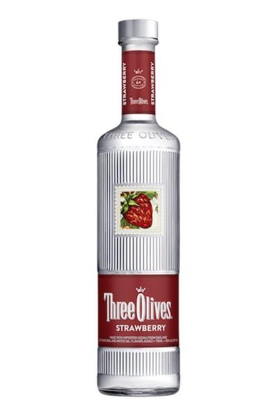 Three Olives Strawberry Vodka