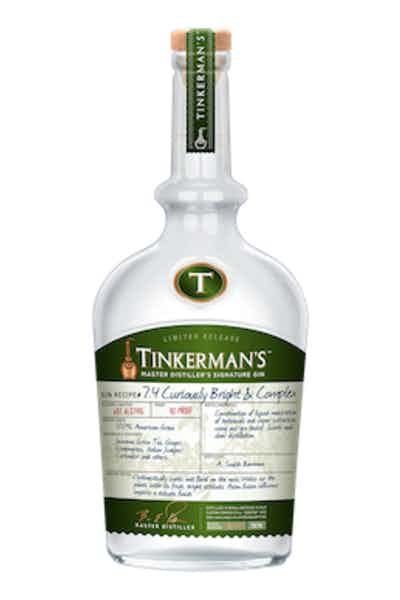 Tinkerman's Curiously Bright & Complex Gin