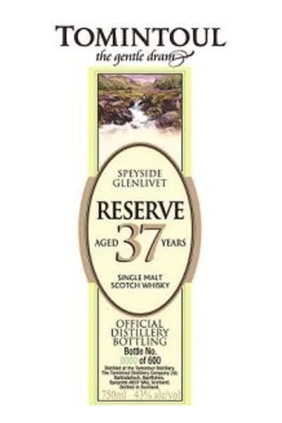 Tomintoul 37 Years Reserve