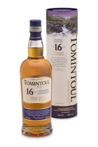 Tomintoul Single Malt