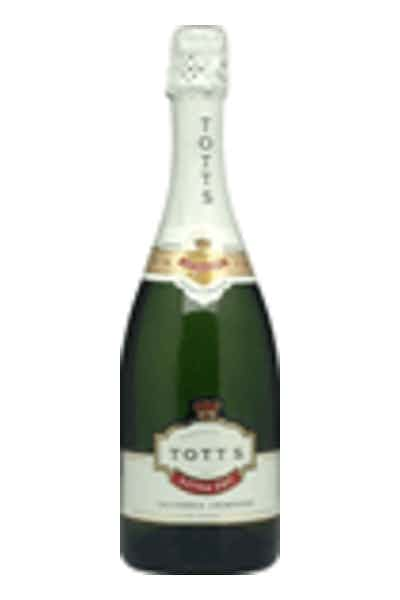 Totts Extra Dry California Champagne