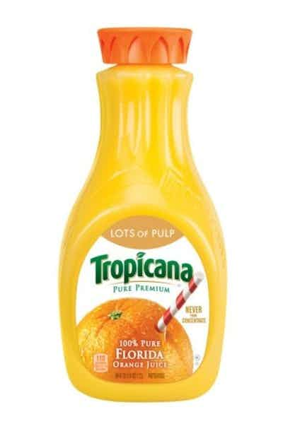 Tropicana Pure Premium Orange Juice (Lots of Pulp)