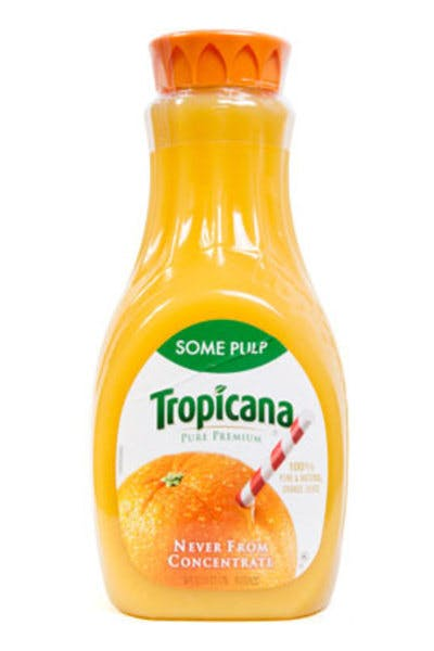 Tropicana Pure Premium Orange Juice (Some Pulp)