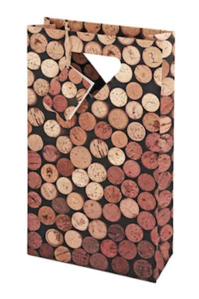 True Corks Two-Bottle Wine Bag