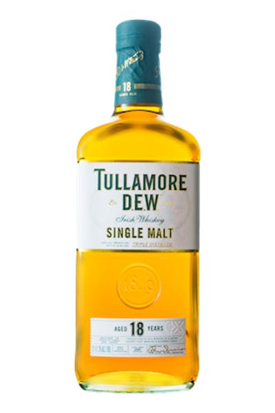 Tullamore Dew 18 Year Irish Whiskey
