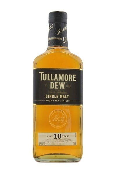 Tullamore Dew Irish Whiskey 10 Year Single Malt