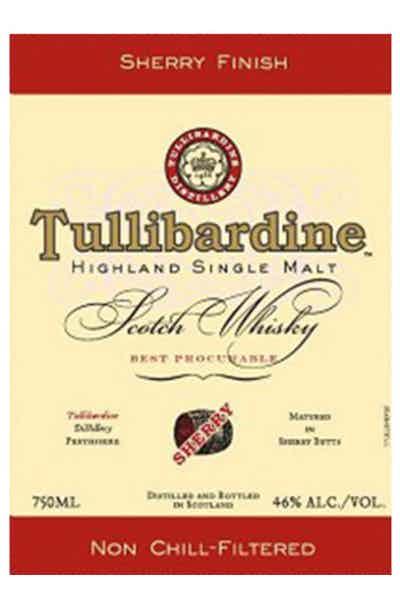 Tullibardine Scotch Single Malt Sherry Finish