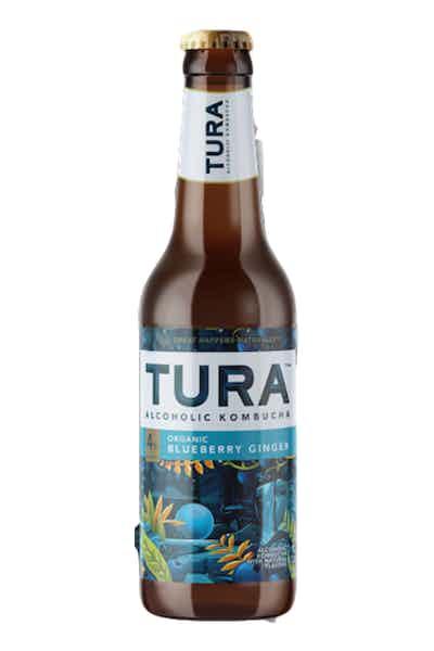 Tura Organic Blueberry Ginger Hard Kombucha