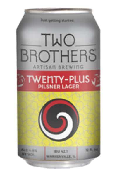 Two Brothers Twenty Plus Pilsner