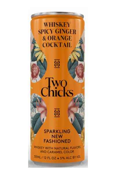 Two Chicks Sparkling New Fashioned