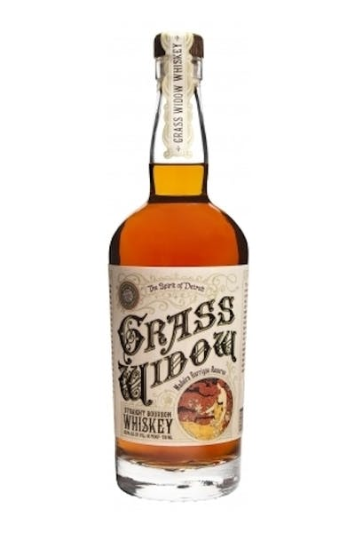 Two James Grass Widow Bourbon Whiskey