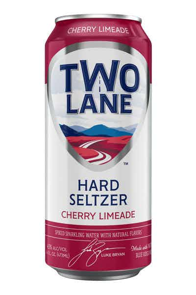 Two Lane Seltzer Cherry Limeade Spiked Sparking Water