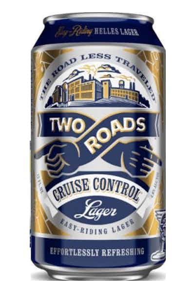 Two Roads Cruise Control Helles Lager