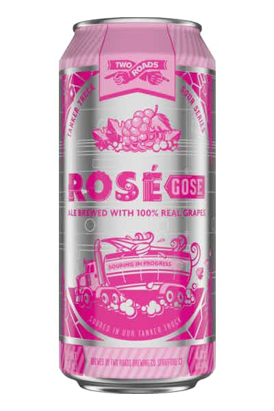 Two Roads Tanker Truck Sour Series: Rosé Gose