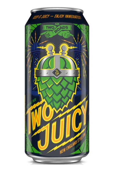 Two Roads Two Juicy New England IPA