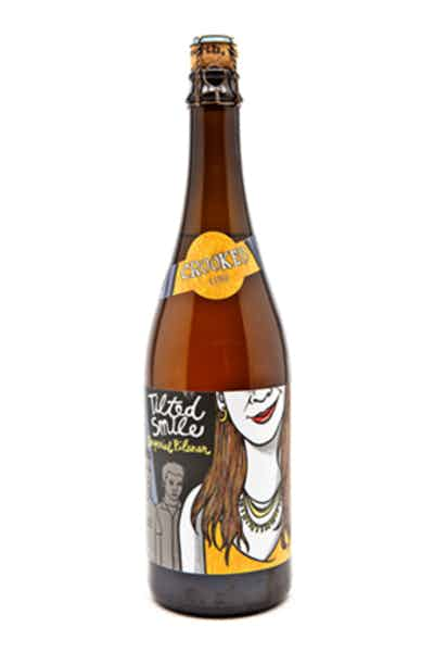 Uinta Crooked Line Tilted Smile Imperial Pilsner