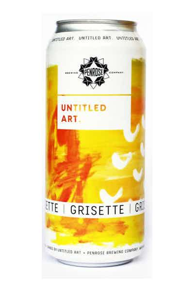 Untitled Art Grisette Farmhouse Ale