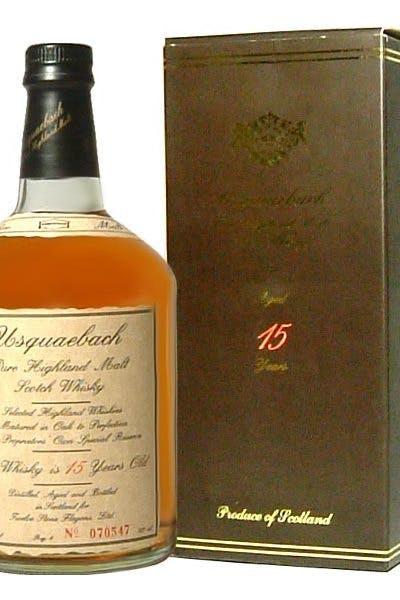 Usquaebach Scotch Malt 15 Year