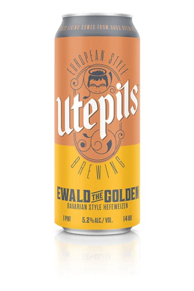 Utepils Ewald the Golden Hefeweizen