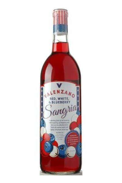 Valenzano Red, White & Blueberry Sangria